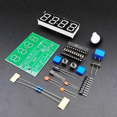 New Arrival 4 Bits Production Suite Clock Electronic C51 DIY Kits