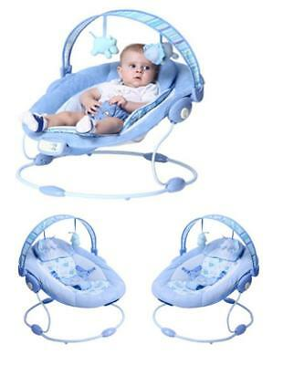 Comfort Baby Cradling Bouncer Reclining Soothing Music Vibration Soft Toy z3036