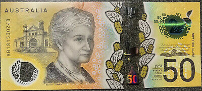 🌟10x Low AUSTRALIA $10 ten Dollar 2017 Mint UNC Bank notes Limit AC Prefix 🇦🇺