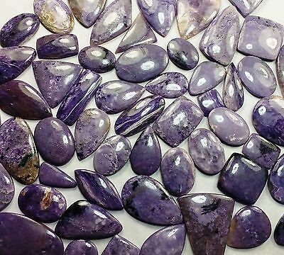 100 CT Charoite Natural Superb Excellent A+++ Quality Wholesale Lot Gemstone OA