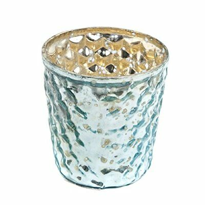 Insideretail Wedding Teal ight Holders Light, vetro, blu, 7 x 7 x (F0f)
