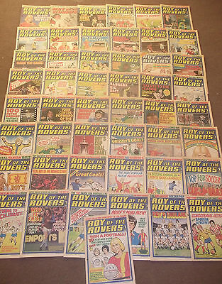 49 x ROY OF THE ROVERS from 1978 - COMPLETE SET