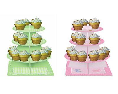 Baby Shower Party Cupcake Stand 3 Tier