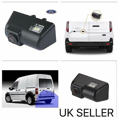 Reverse Rear Camera For Ford Transit & Connect Van Number Plate Lamp UK
