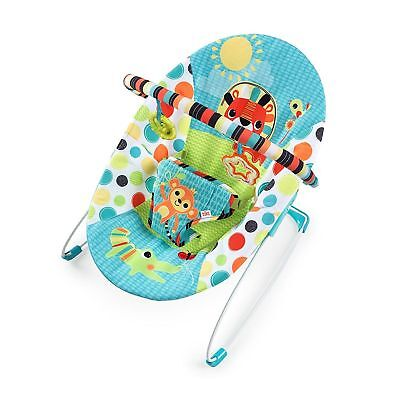 Brand New Boxed Bouncer Bright Stars Kaleidoscope Safari Vibrating Infant