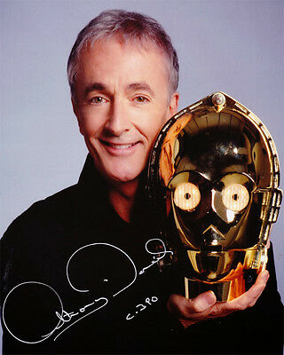 -- STAR WARS -- C-3 PO (ANTHONY DANIELS) Autographed 8x10 RP-
