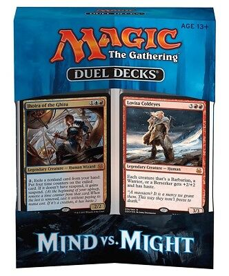 Magic the Gathering Duel Decks: Mind vs. Might