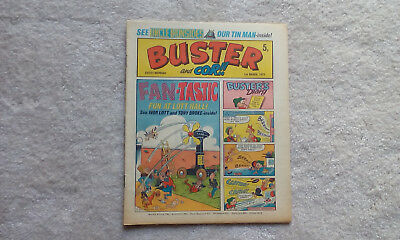 BUSTER and COR COMIC- March 1st 1975, Very  good condition