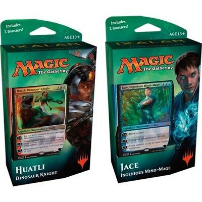 "Magic The Gathering MTG-XLN-PD-EN ""Ixalan Planes Walker Deck Jace or Huatli"" Tra"