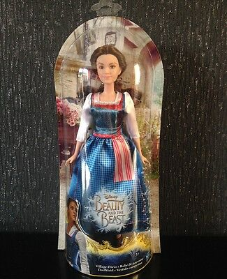 Disney Princess Beauty & the Beast Belle Toy Doll Village Dress From New Movie