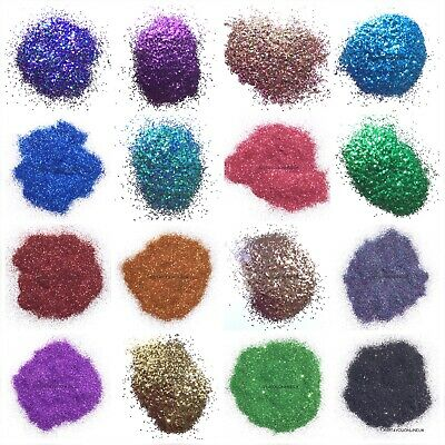 Wine Glass Nail Glitter Resin Epoxy Art Ultra Fine Chunky Mixes Color Colors 100