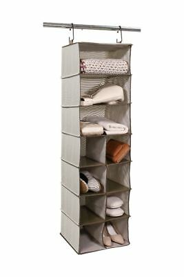 Tidy Living - 3+8 Compartment Organizer - Closet Hanging Storage Organizer Cubes