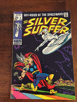 The Silver Surfer #4 (Feb 1969, Marvel)