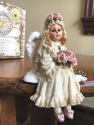 Boyds Wee Folkstone Felicity Angelbliss Bride  #36103 1998 - Excellent with Box