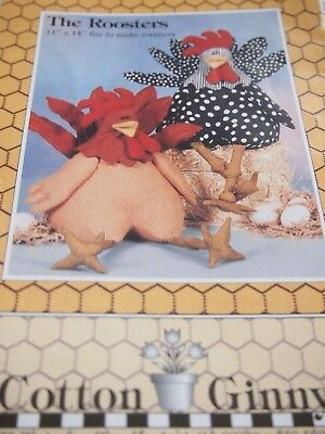 The Roosters, Pattern And Kit For One Rooster  Buy 3 Items, 4Th Free - Lowest Pr