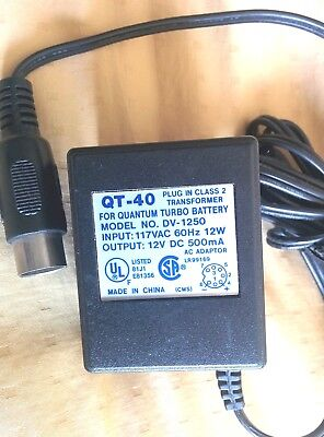 Quantum Instruments Turbo Battery Charger Transformer QT-40 AUTHENTIC UL listed