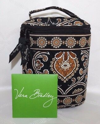 Vera Bradley Cool Keeper Insulated Lunch Bag Can Cooler - Caffe' Latte - Perfect