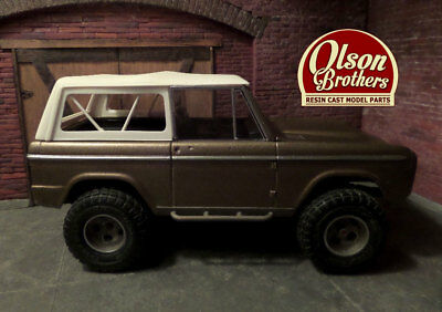 Olson Brothers Resin Full Soft Top Kit for Revell 1/25 Ford Bronco !!NEW!!