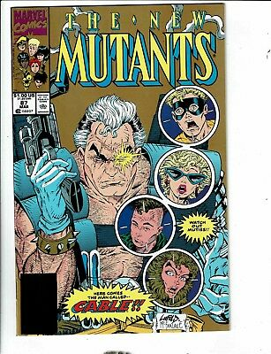 New Mutants # 87 NM 2nd Print Marvel Comic Book 1st Cable Appearance Key MK4