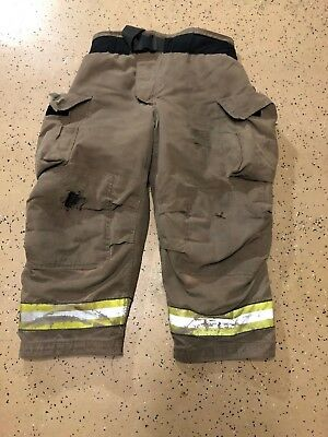 Globe Firefighter Suits: Fire Turnout Pants Bunker Gear 44/28 01/2008