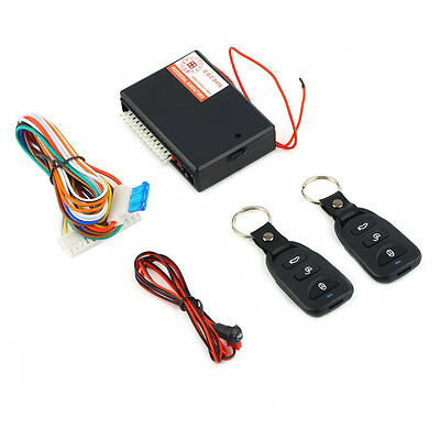 Universal Car Remote Central Kit Door Lock Vehicle Keyless Entry System QW