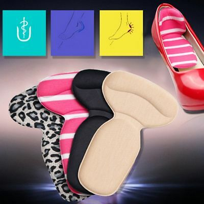 T-Shape Silicone Non Slip Cushion Foot Heel Protector Liner Shoe Insole Pads Hot