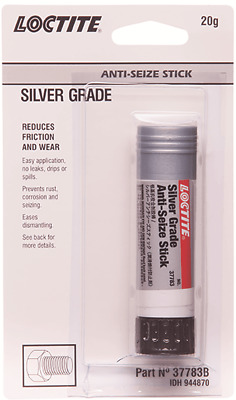 Loctite SILVER GRADE ANTI-SEIZE STICK 20gm Reduces Friction & Wear *USA Brand
