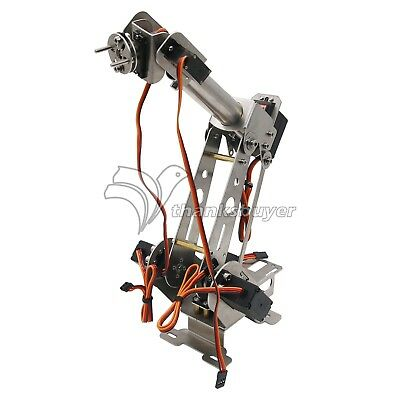 Mechanical 6DOF Robotic Arm Clamp with Servo DIY Kit for Robot  Car Unassembled