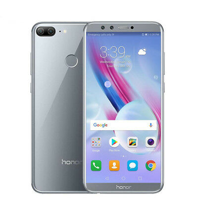 "4GB RAM 64GB Blanc Huawei Honor 9 Lite 5.65"" Android 8.0 Smartphone Octa Core"