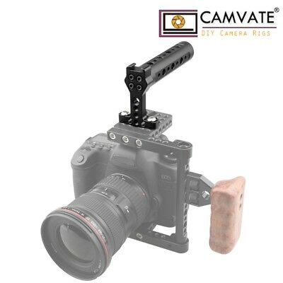 CAMVATE Top Handle Handheld Rubber Grip for DSLR Camera Cage Camcorde Rig