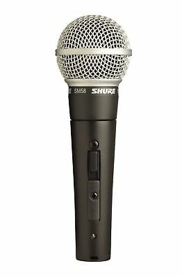 SHURE SM58 Vocal Microphone with On/Off Switch - #1 RATED FANTASTIC MICROPHONE