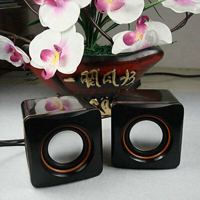 Mini Portable USB Audio Music Player Speaker for iPhone For iPad MP3 Laptop QC