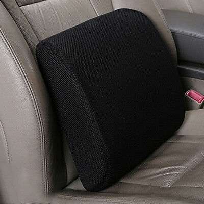Memory Foam Seat Cushion Lumbar Back Support Pillow for Office Home Chair Car Q9