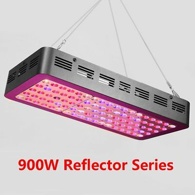 900W Dimmable LED Grow Light Full Spectrum Lamp Panel Hydroponic Plant Veg Bloom