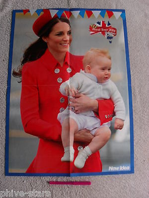 Prince George William & Kate English Royals Australian Magazine Clippings Lot 32