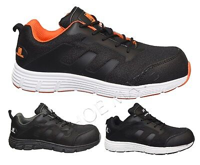 Ladies Womens Lightweight Non Metal Composite Toe Cap Safety Work Shoes Trainers