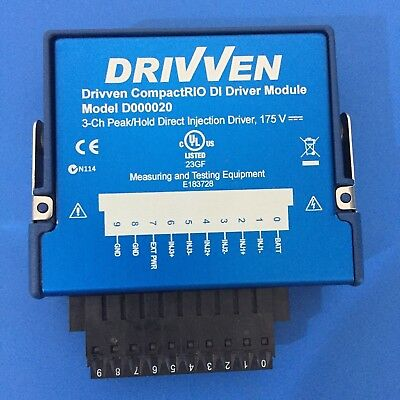 National Instruments NI 9751 cRIO Module Drivven 3-Ch Direct Injection Driver