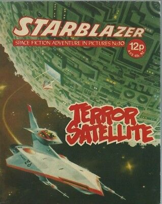 Terror Satellite,no.10,starblazer Space Fiction Adventure In Pictures,comic