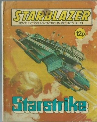 Starstrike,no.31,starblazer Space Fiction Adventure In Pictures,comic