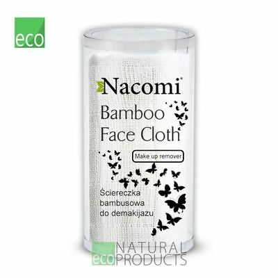 Nacomi Natural Bamboo Face Cloth for Makeup Remover