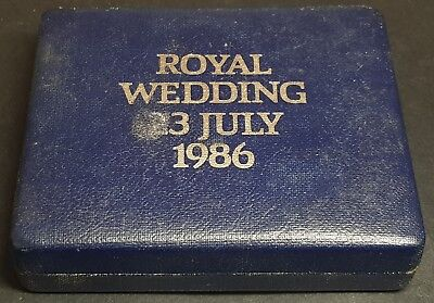 1986 Royal Wedding Presentation Box for 44mm Diameter Coin/Medallion [3B]