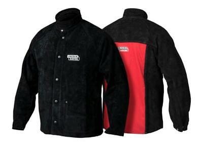Lincoln Electric Large K2989 Heavy Duty Leather Welding Jacket