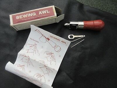 Handy Hand Sewing Awl Leather Canvas Vintage