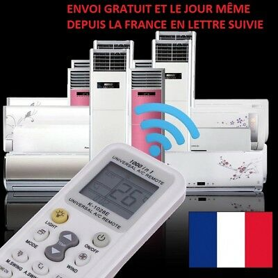 Telecommande Universelle Ir Climatiseur Lcd A/C Climatisation Air Chauffage Clim