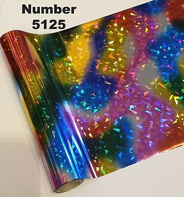 Toner Foil Craft Cards Laser Printer Heat Transfer Broken Glass Laminator Foil