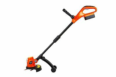 eSkde Cordless Grass Trimmer Strimmer Kit inc 18v Lithium Battery and Charger