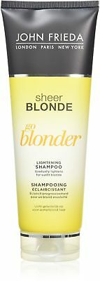 John Frieda Sheer Blonde Go Blonder Shampoo, 250 ml, Pack of 2