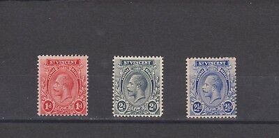 St Vincent-  Lot 2138, Old Mint, LH.