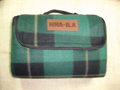 Nra Ila Blanket Tartan Travel Stadium Hunting Emergency National Rifle Assoc New
