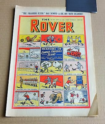 "VINTAGE  D.C.THOMPSON  ""THE ROVER""  COMIC #1314  DATED  SEPTEMBER 2nd 1950"